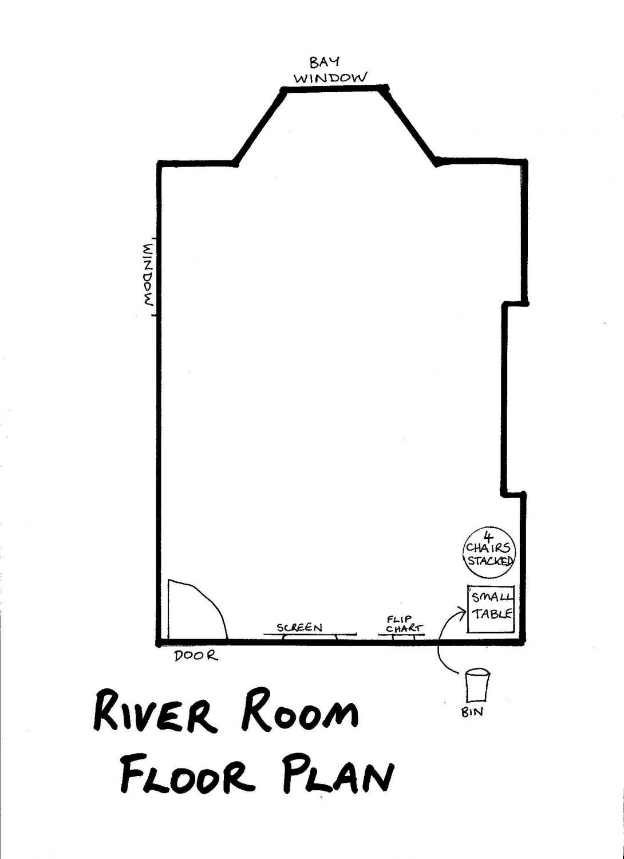 Floor Plan - River Room